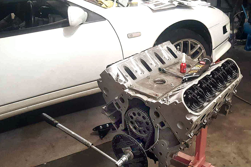 Engine Swap: LS1 Into Nissan 300ZX Supercar