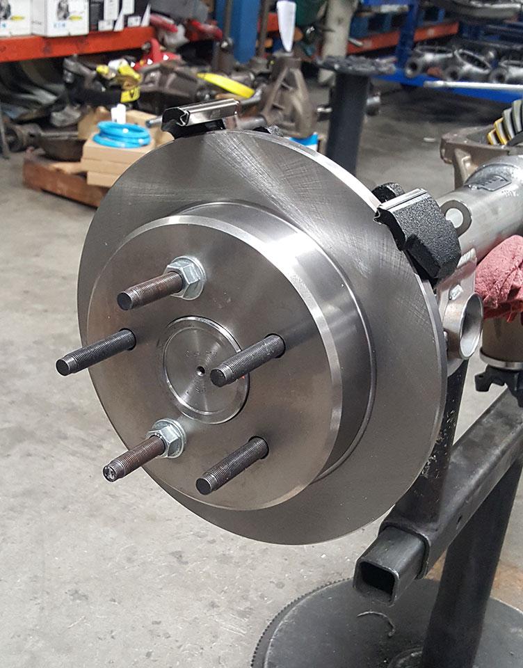 Chevy 12-bolt rearend