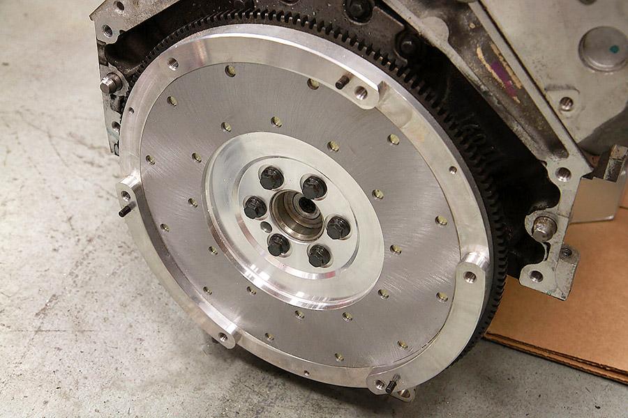 LS2 flywheel